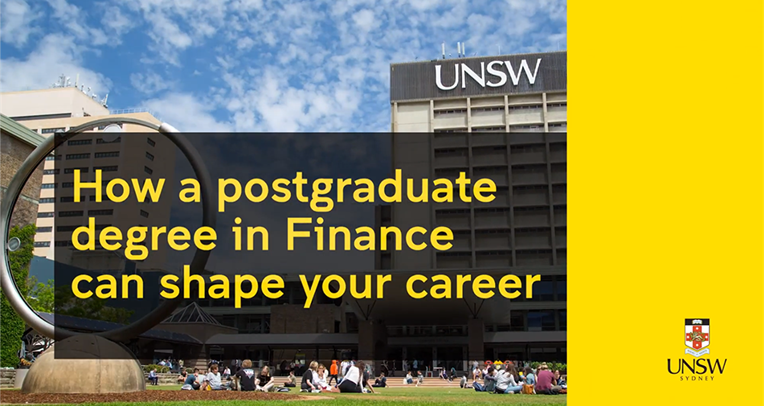 How a postgraduate degree in Finance can shape your career