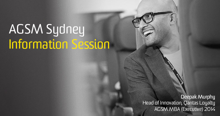 AGSM Lunchtime Information Session - Sydney