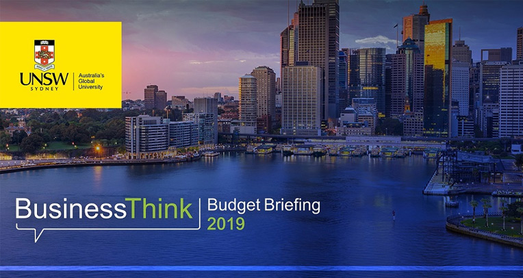BusinessThink Budget Briefing 2019