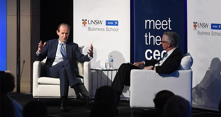 ANZ's Shayne Elliott Talks Culture, Communication, and Community at Meet the CEO