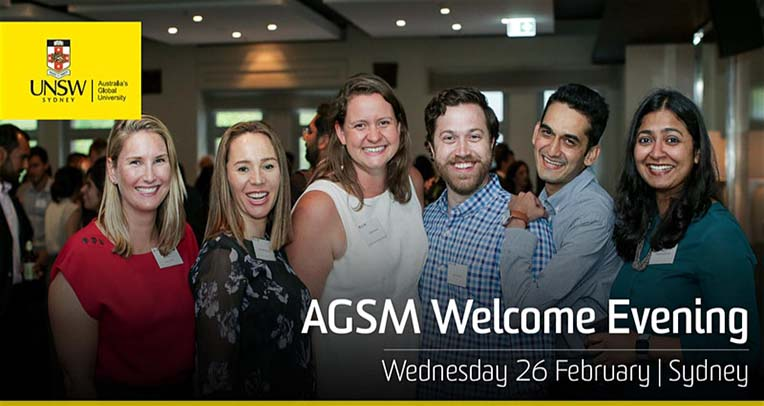AGSM Welcome Evening