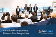 International Undergraduate Competition held at UNSW Business School