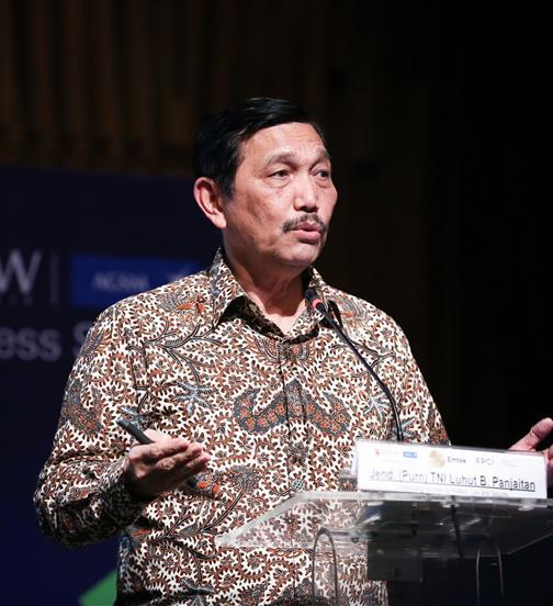 Minister Luhut Pandjaitan