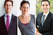 Business School trio awarded professorships