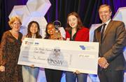 Female entrepreneurs rule at Peter Farrell Cup finals