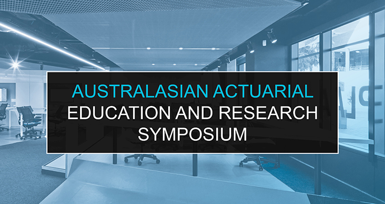 Australasian Actuarial Education and Research Symposium