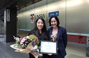 UNSW Business School student claims RateCity scholarship prize