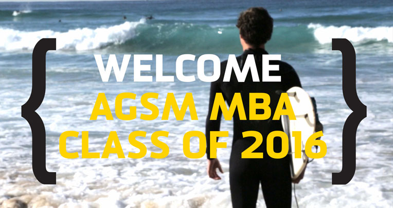 Watch the welcome to 2016 MBA Students