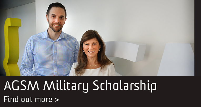 AGSM Military Scholarship