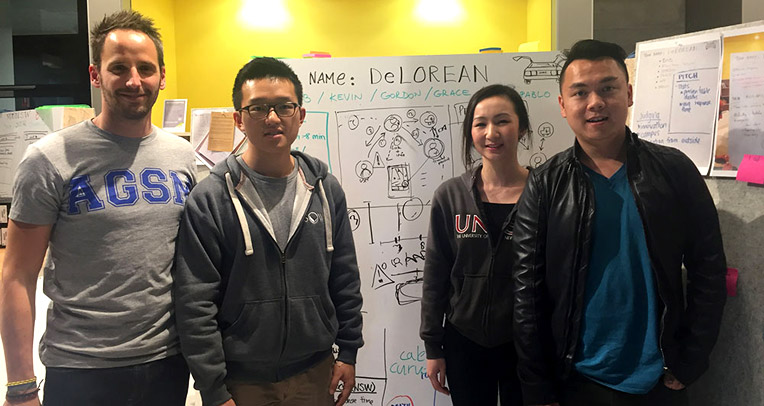 Winning UNSW Ideation idea with lifesaving potential