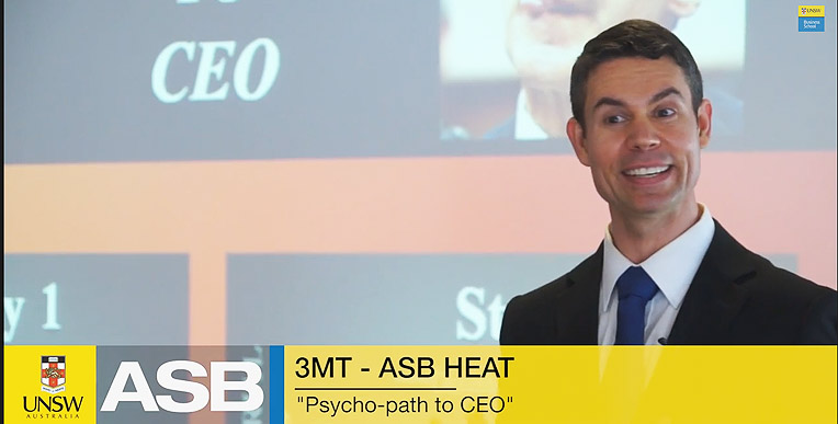 3MT - ASB Heat Winner 2013 - Benjamin Walker