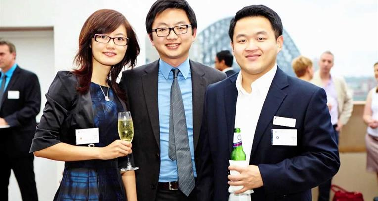 [Alumni Cocktail Event, Circular Quay Sydney 2012]