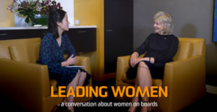 Leading Women: A conversation about women on boards