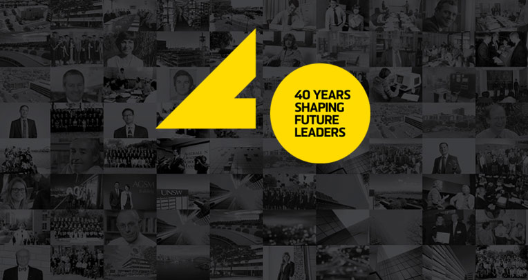 AGSM 40 Years