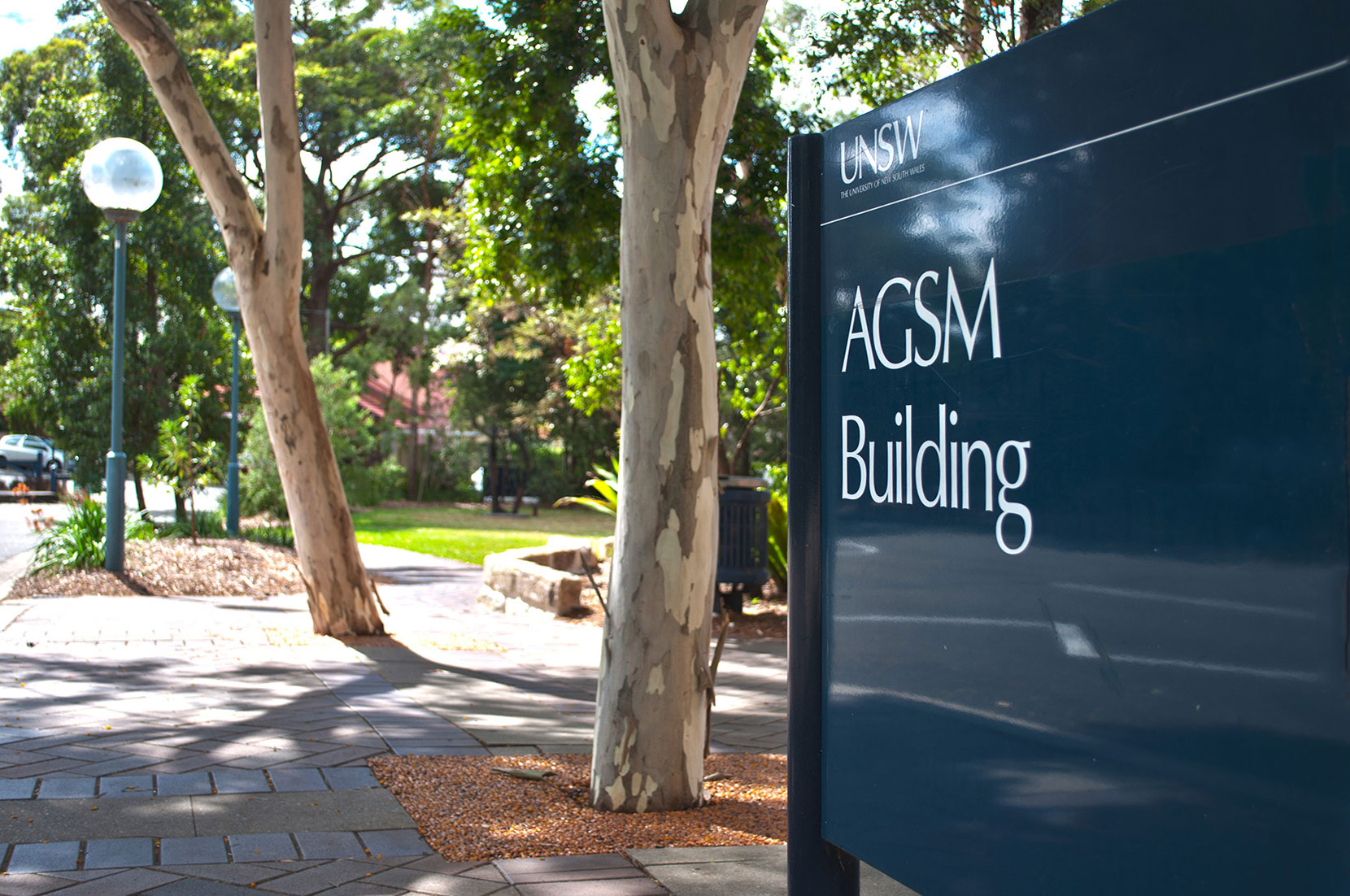 Trees and AGSM Sign